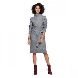 NWT A New Day Turtleneck Sweater Dress Large Gray